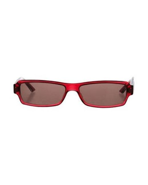 7cc8e5ec36c Dior - Metallic Diorsunstrass 2 Tinted Sunglasses Red - Lyst ...