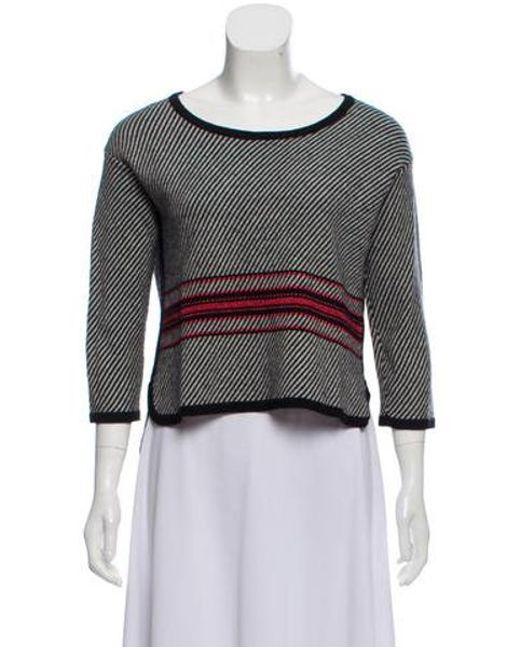 Rag & Bone - Gray Merino Wool-blend Sweater Black - Lyst