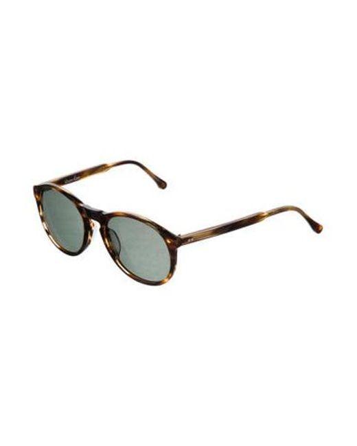 e684a747766c8 ... Steven Alan - Brown Wentworth Tortoiseshell Sunglasses - Lyst ...