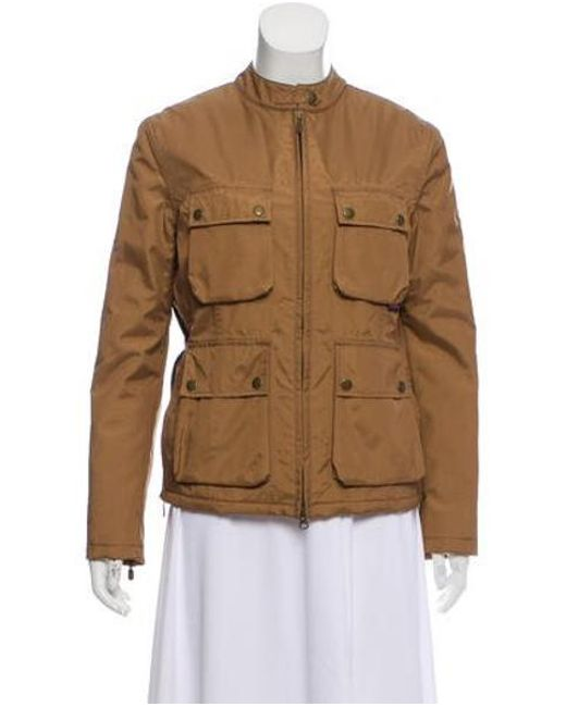 f4f6d8740290 Belstaff - Natural Zip-up Jacket Tan - Lyst ...