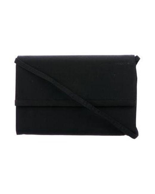 585145d6d74f Ferragamo - Black Canvas Shoulder Bag - Lyst ...