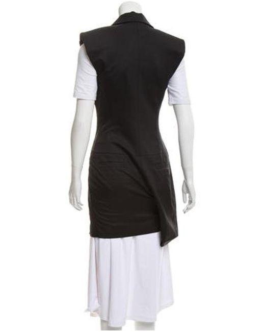 75a6f05de774 ... Louis Vuitton - Black Notch-lapel Structured Romper - Lyst