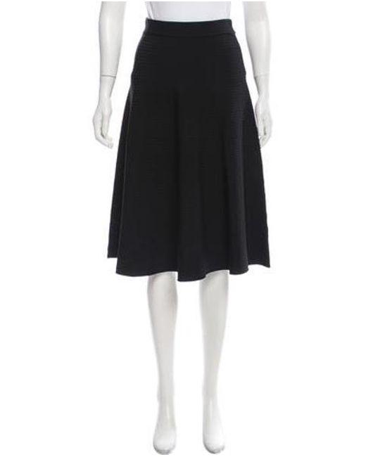 43c4b048993 T By Alexander Wang - Black Textured A-line Skirt - Lyst ...