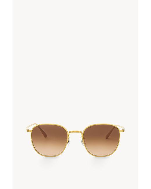 The Row Multicolor Board Meeting 2 Sunglasses In Titanium