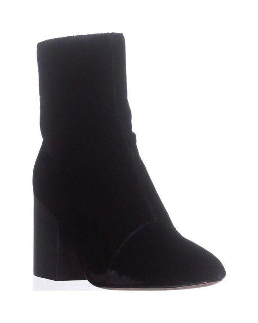 Bettye Muller - Black Block-heel Ankle Booties - Lyst