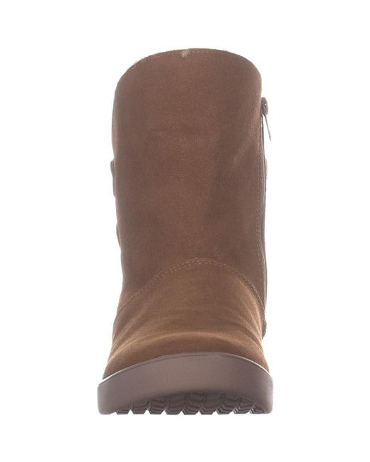378283b32ca UGG Koolaburra By Shazi Short Mid Calf Boots in Brown - Lyst