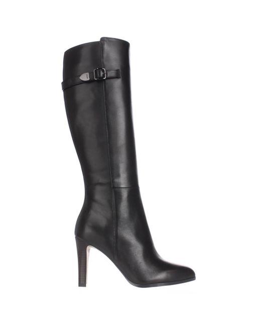 coach jo knee high dress boots in black lyst