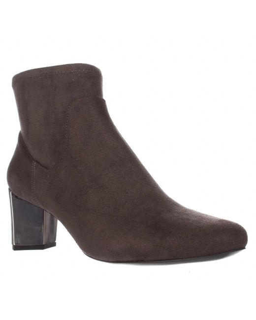 Nine West   Gray Falup Ankle Booties   Lyst