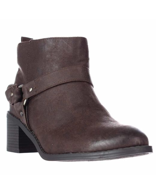 Carlos By Carlos Santana | Brown Vancouver Ankle Boots | Lyst