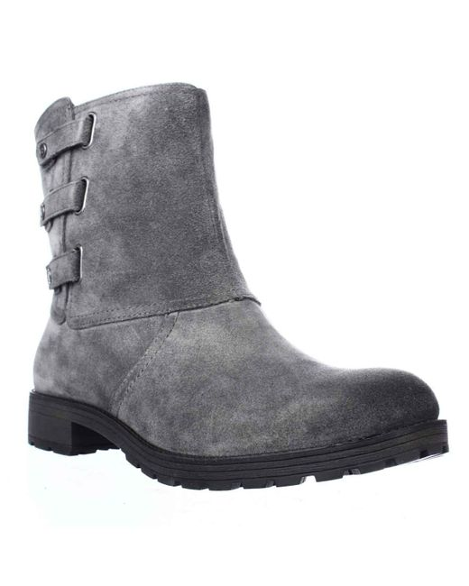 Naturalizer | Gray Tynner Triple Side Strap Boots | Lyst