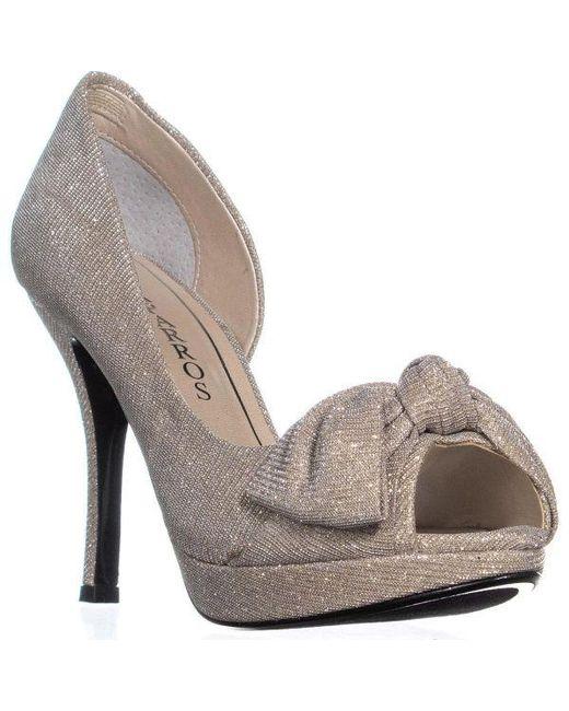 78a865fc15cf Caparros - Multicolor Lucky Platform Mesh Dress Sandals - Lyst ...