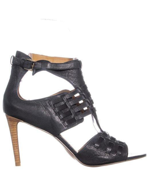 Toe Heels Peep Black Kurrious Women's lFKT1c3J