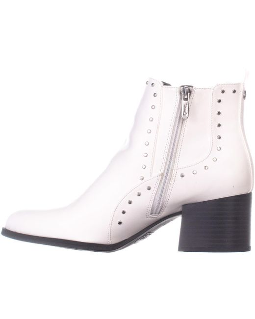 73d706864 ... Sam Edelman - White Circus By Jenna Ankle Boots - Lyst ...