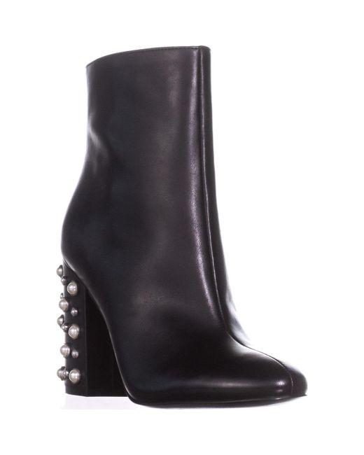 Ivanka Trump Black Telora Ankle Boots