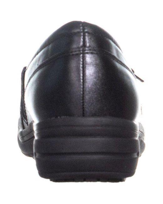 923aa42843c7 ... Easy Street - Black Easy Works By Easy Steet Bentley Loafers - Lyst ...