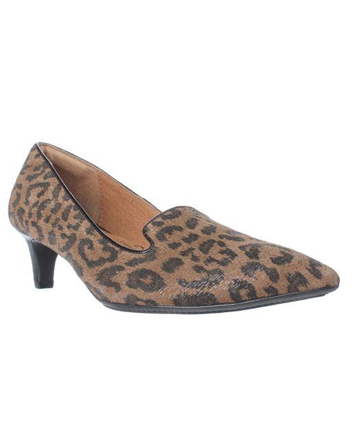 Söfft | Multicolor Vesper Pointed Toe Kitten Heels | Lyst