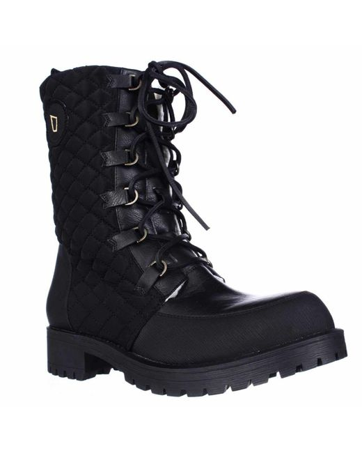 Matt Bernson - Black Ketchum Quilted Lace Up Shearling Lined Boots - Lyst
