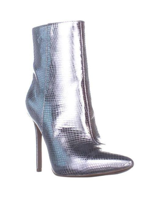 de2bb4bc90157 Michael Kors - Metallic Michael Leona Booties - Lyst ...