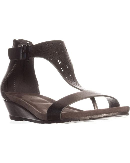Kenneth Cole | Multicolor Reaction Great Gal 3 Wedge Sandals | Lyst