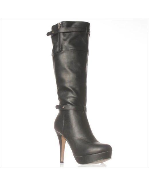 Madden Girl | Black Nastyy Knee-high Boots | Lyst