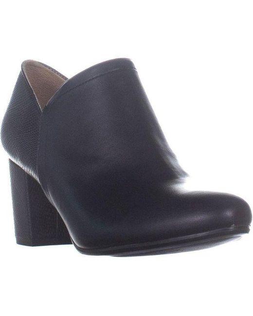 4b325317412a68 Naturalizer - Black Misha Ankle Boots - Lyst ...