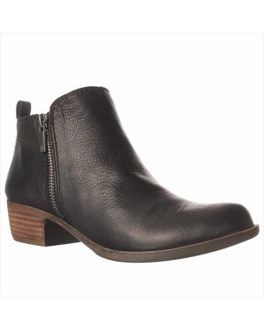 Lucky Brand | Black Women's Basel Booties | Lyst