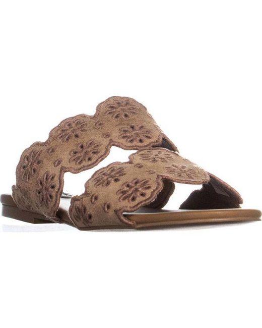 ad54de556a42 Chloé - Pink See Sb30182 Flat Slide Sandals - Lyst ...
