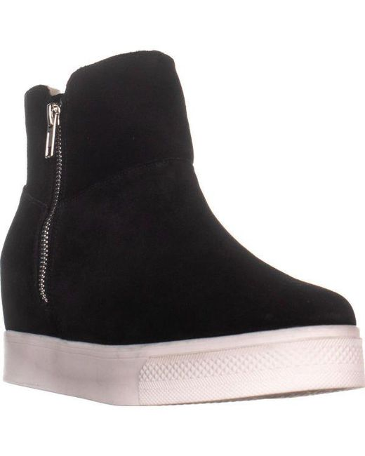 b9c57d22046 Steve Madden - Black Wanda Fashion Sneakers - Lyst ...
