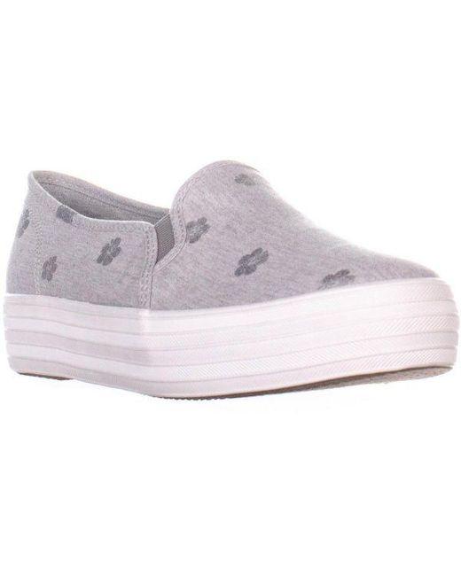 d10e698c5790 Keds - Multicolor Triple Decker Platform Slip On Fashion Sneakers - Lyst ...