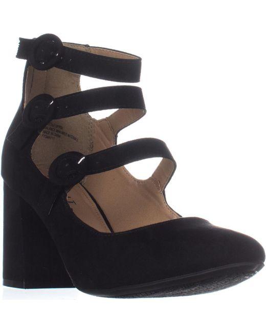 Esprit - Black Lucy Buckle Ankle Strap Pumps - Lyst