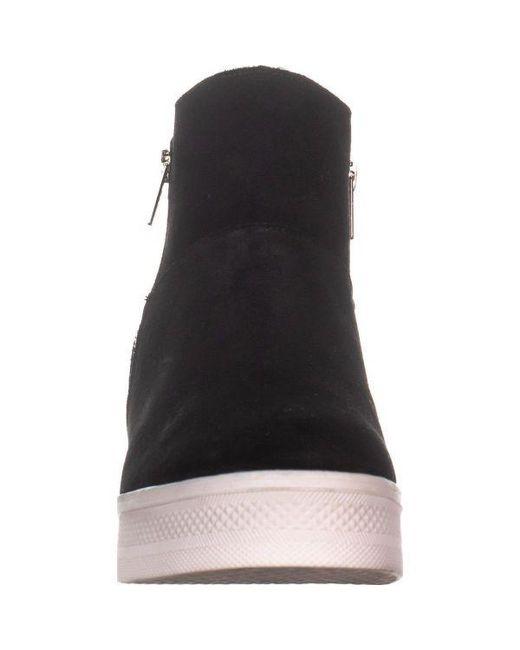 898d8cbad80 ... Steve Madden - Black Wanda Fashion Sneakers - Lyst ...