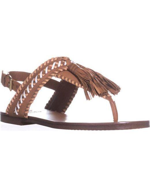 6556886d4755b3 Vince Camuto - Multicolor Rebeka Flat Sandals - Lyst ...