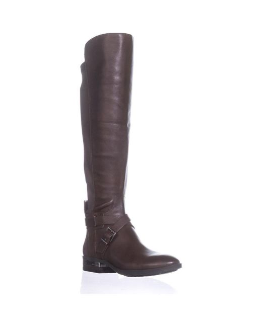 de50ddec5779 Lyst - Vince Camuto Paton Wide Calf Fashion Boots in Brown - Save 2%