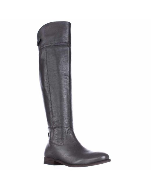 Franco Sarto Gray Hydie Tall Riding Boots