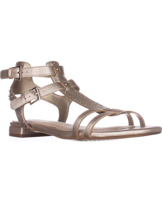 Aerosoles | Metallic Showdown Gladiator Sandals | Lyst