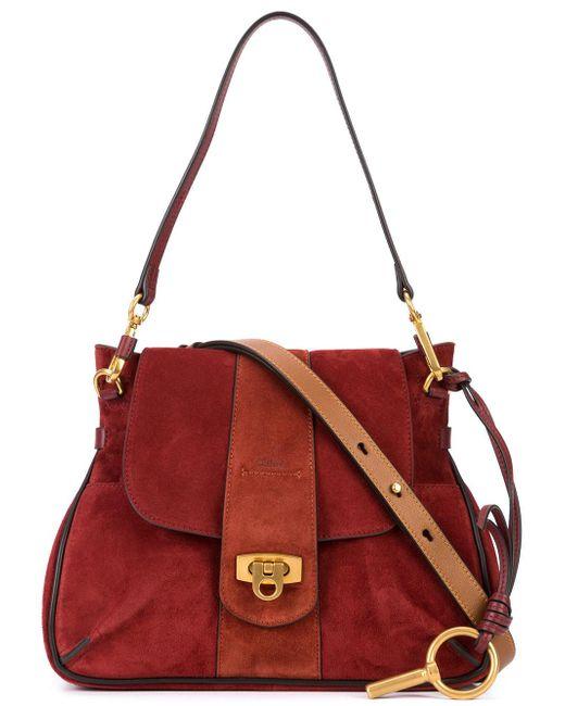 Chloé | Red Small Lexa Shoulder Bag | Lyst
