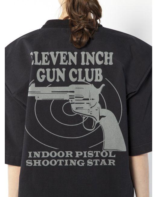 Vetements 11inch Gun Club Football Shoulder T Shirt Lyst