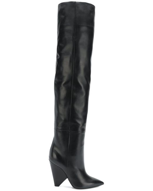 Saint Laurent - Black Niki Boot - Lyst