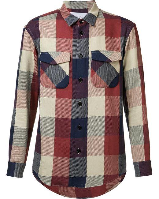 Julien David | Multicolor Flap Pocket Shirt for Men | Lyst