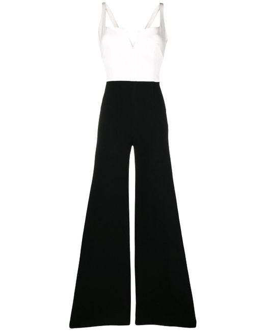 Galvan - Black Eclipse Jumpsuit - Lyst