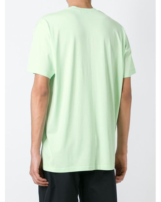 givenchy basketball print t shirt in green for men lyst. Black Bedroom Furniture Sets. Home Design Ideas