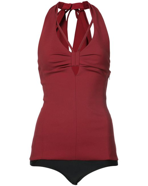 Rosie Assoulin - Red Esther Williams Bodysuit - Lyst