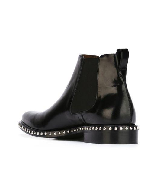 givenchy studded chelsea boots in black for men lyst. Black Bedroom Furniture Sets. Home Design Ideas