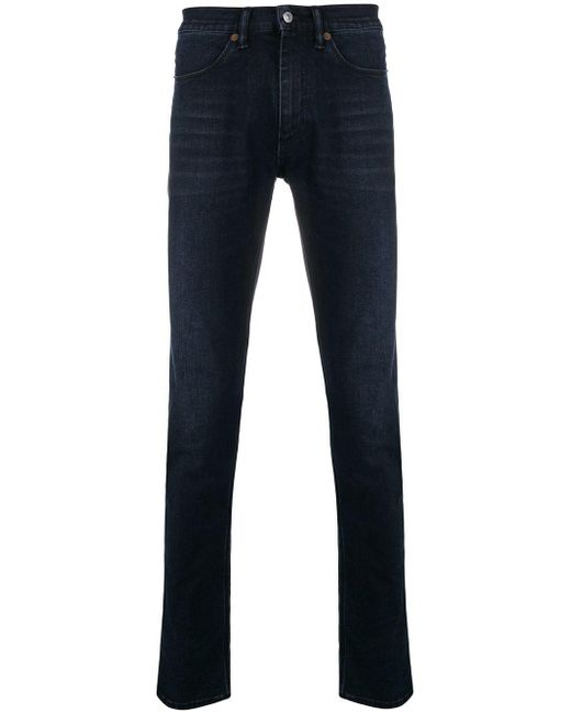 Acne - Blue Max Slim Fit Jeans for Men - Lyst