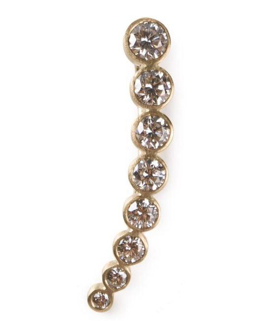 Sophie Bille Brahe - Metallic 18kt Yellow Gold 'croissant De Lune' Ear Cuff - Lyst