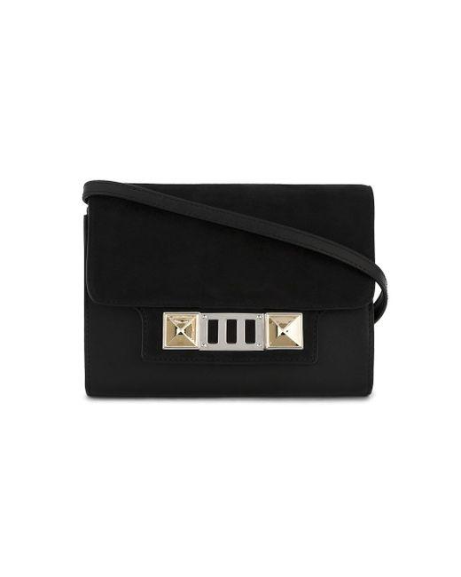 Proenza Schouler   Black Ps11 Cross-body Wallet Bag   Lyst