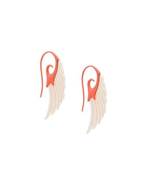 Noor Fares | Multicolor Fly Me To The Moon Wing Earrings | Lyst