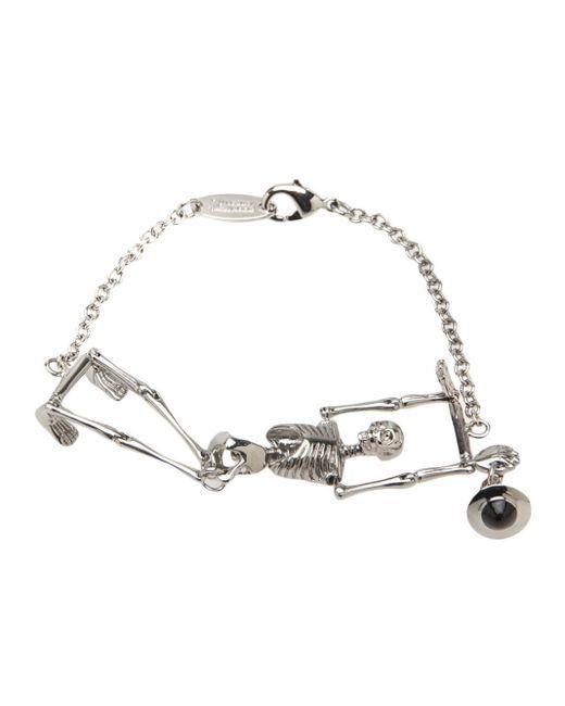 Vivienne Westwood | Metallic Small 'gilda' 3d Orb Bracelet | Lyst