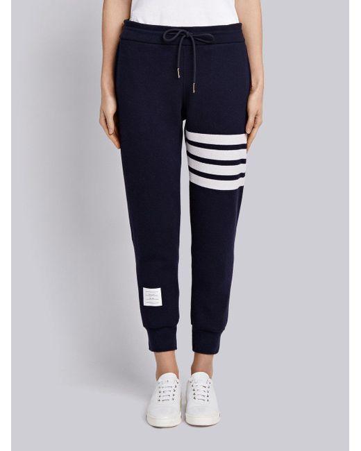 azul doble Pantalones cara de Browne cachemir de de Lyst chándal Thom qRx0wSZXR