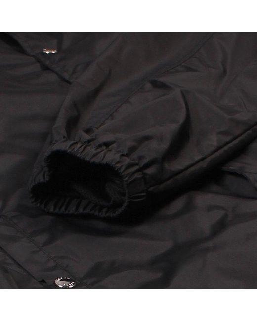 ec1a70ed9 ... KENZO - Black Multi-colour Logo Print Coach Jacket for Men - Lyst ...
